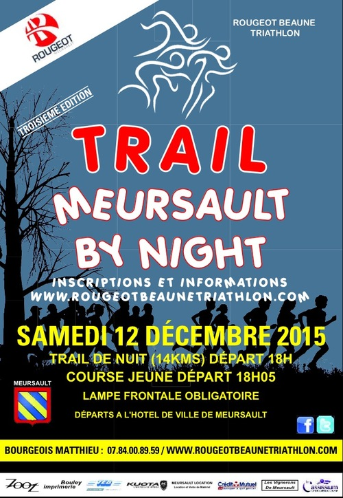 Trail by night 12 décembre 2015