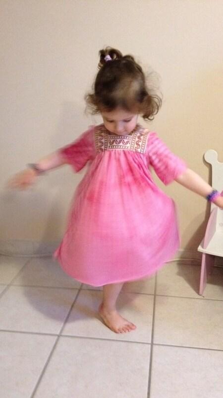Sa robe de 1ére rentree des classes