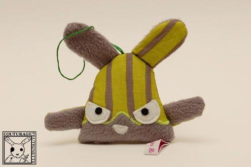 Mini Doux-Lapinous, lapin peluche, manga, kawai