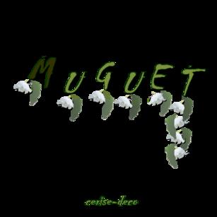 participation à mes clusters et cadeau un cluster muguet pour vos créations