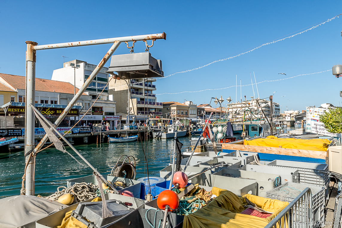 Occitanie  2017 : Le canal de Palavas