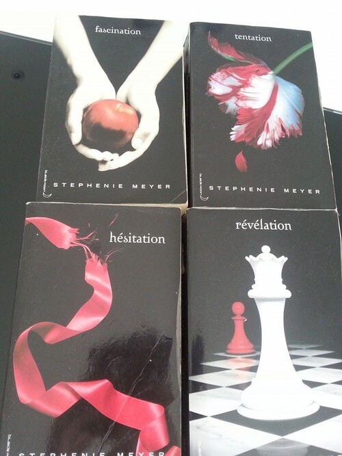 Twilight tome 1,2,3,4.