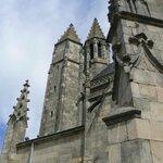 La collégiale saint Aubin