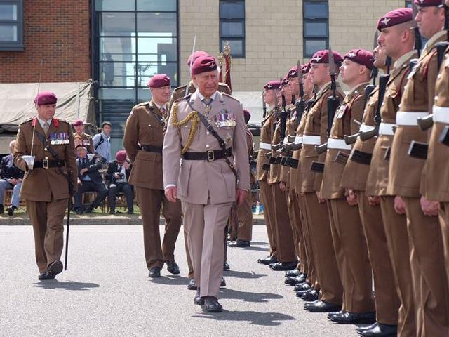 The Parachute Regiment in Colchester