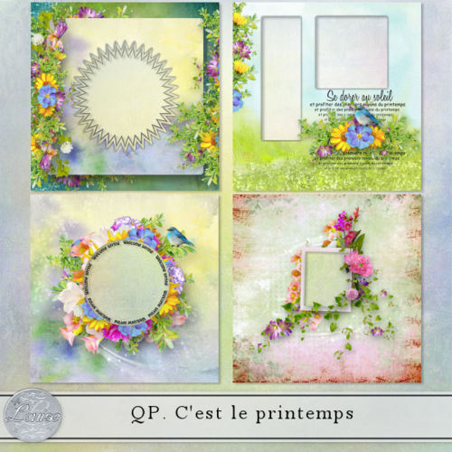 C'est le printemps by Louise L