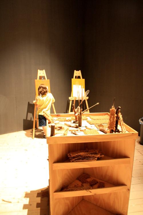 Ateliers créatifs autour d'une exposition d'architecture utopiste