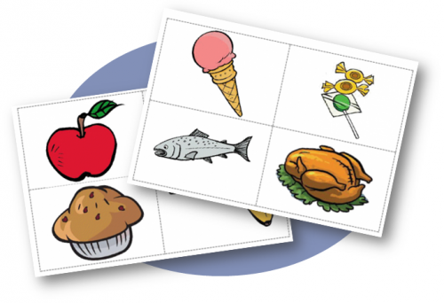 Flashcards Food