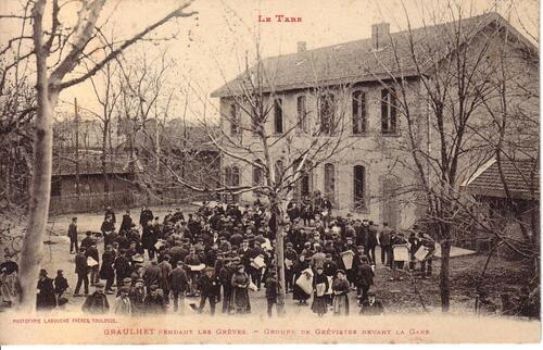 LA GRÈVE DE 1910 A TRAVERS LA PRESSE ET LES CARTES POSTALES