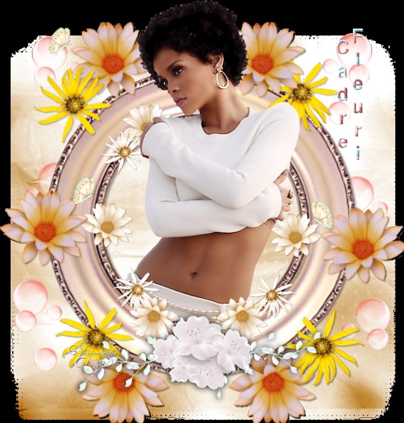 *** Cadre fleuri ***