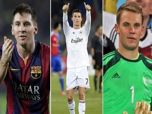 Balon d'or 2014 : Selon l'independant Ronaldo est le gagnant
