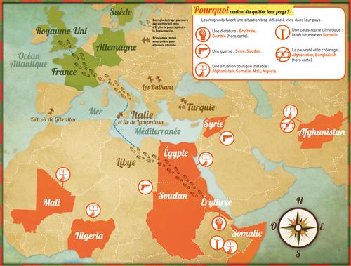 Sitographie : Informations générales sur les réfugiés
