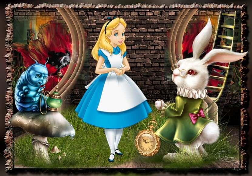 Défi 33. Alice au pays des merveilles.