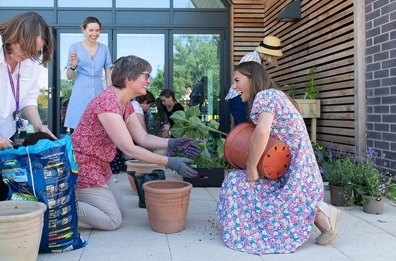 New garden for children's hospice, #ChildrensHospiceWeek