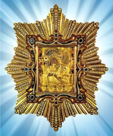 La Vierge Marie En Son Icône de Potchaiev