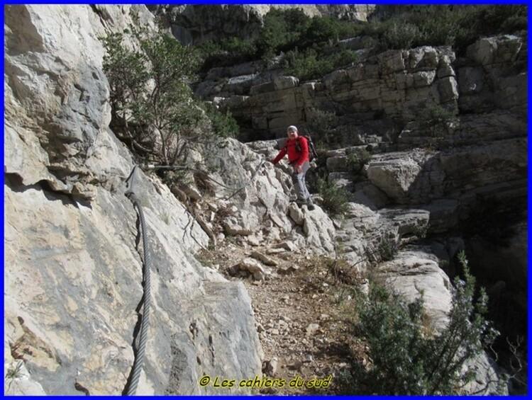 Le puits de l'Aroumi par le Grand Vallon