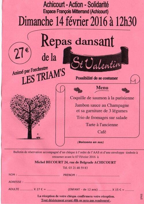 Randonnées, Tango, Saint Gaston, loto ce sont les loisirs à Arras et ses environs ce Week-end