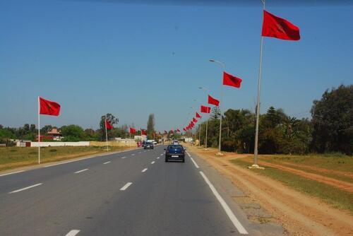 Sur la route de Salé à Kénitra
