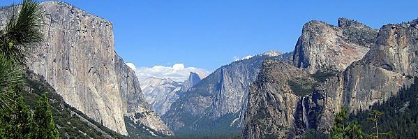 Yosemite pano