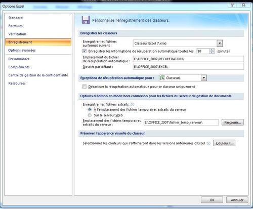 Windows 7 et 8,1 en duo (partie 7) Office 2007