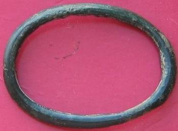 boucle en bronze avers