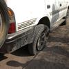 Crevaison sur la piste en revenant de Bankoualé