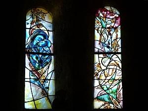 Larressingle 2 vitraux