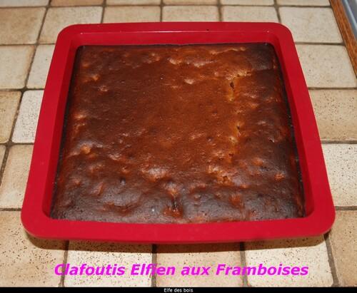 Clafoutis Elfien aux Framboises