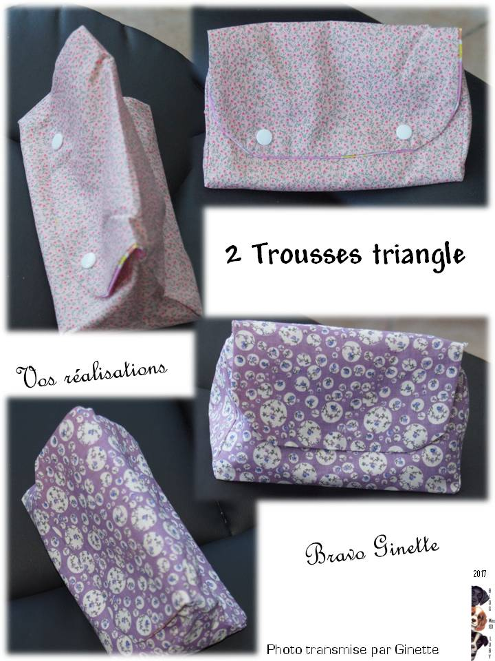 Trousse Triangle : Bravo Ginette