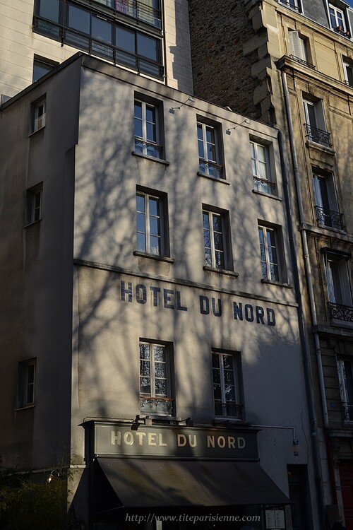 Canal Saint-Martin : C'est un Hôtel ...La vraie histoire de L'Hôtel du Nord