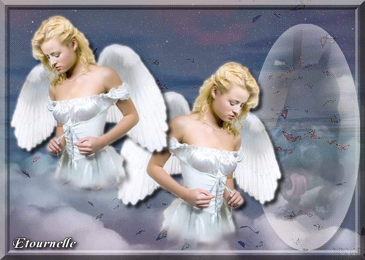 Défi chez Fée Capucine, Vole mon Ange
