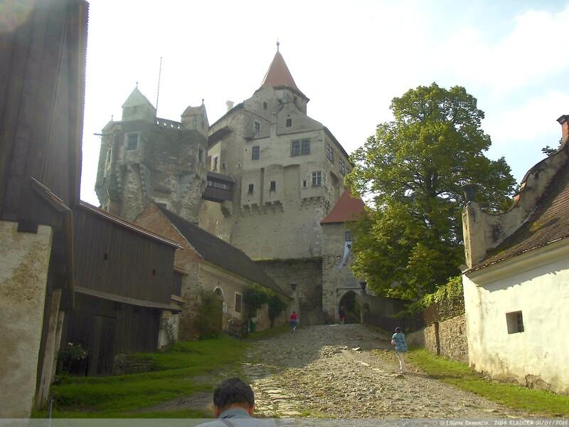 Château de Pernštejn en Moravie