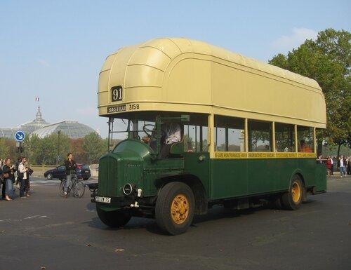 Bus au gaz pedant la WWII.