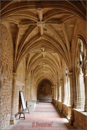Abbaye de Cadouin le cloître galerie Ouest Renaissance