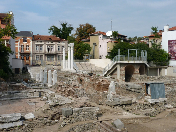 Jour 9 - Plovdiv - l'ancien Odéon