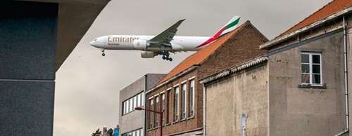 Wolu1200 : Plus de 124.000 Bruxellois gênés par le bruit des avions selon les normes OMS- association