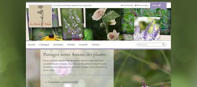 Les Jardins d'Arhada : c'est en ligne !