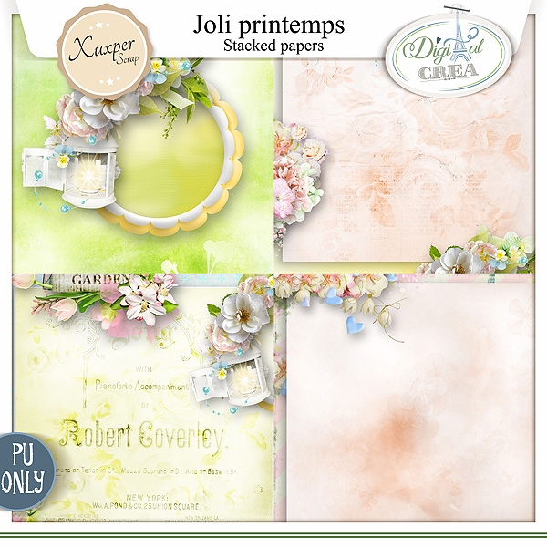 Joli printemps by Xuxper Designs