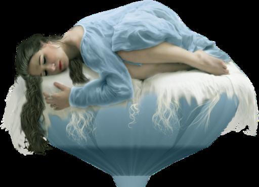 Tube femme couchée
