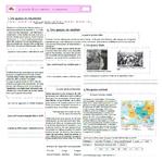 La France, des guerres mondiales à l'Union Européenne