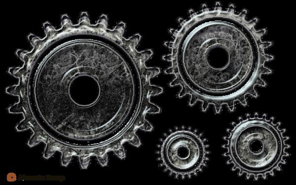 Rouages d'horlogerie pour le scrap digital pur relief - page 1