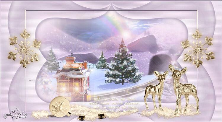 Noël Paix de Womanence  psp