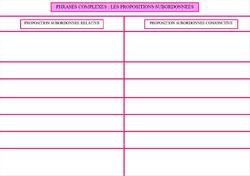 Atelier grammaire : phrases simples et phrases complexes