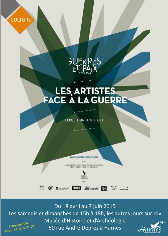 Les artistes pendant la guerre- Musée de Harnes