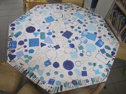Les nappes des tables la classe de marion - Les nappes des tables ...
