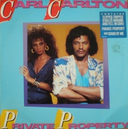 Carl Carlton - Private Property - Complete LP