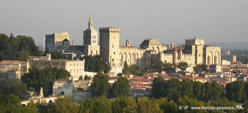 Visite de Villeneuve-lez-Avignon....