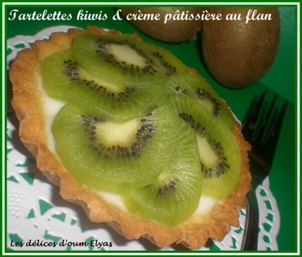 Tartelettes pâtissières au kiwi avec la Pâte à-copie-1