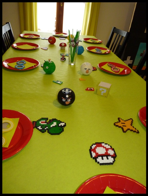 table geek angry bird mario