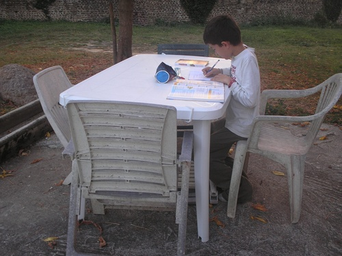 Devoirs en plein air