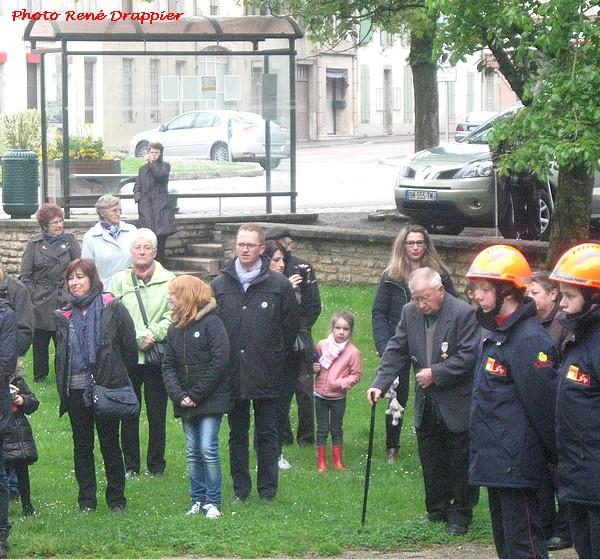 La commémoration du 8 mai  1945 à Châtillon sur Seine